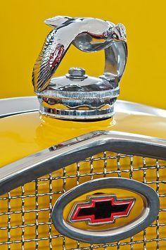 "1931 Ford ""Quail"" Hood Ornament 2 by Jill Reger"