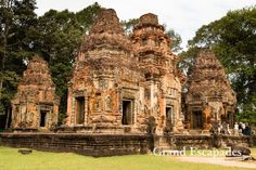 Prasat Bakong, Prasat Bakong, Cambodia — by Grand Escapades. Bakong, Roluos Temples, Siem Reap, Cambodia