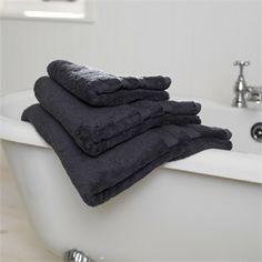 Slate Egyptian Cotton Towels