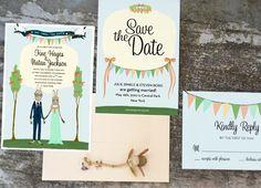 Animal Wedding Invitations