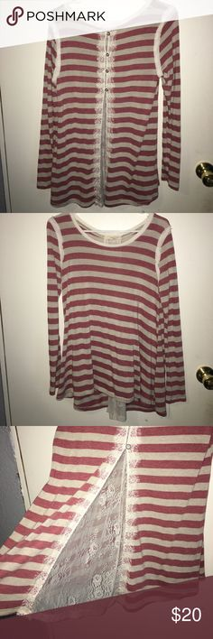 Rewind Long Sleeve Legging/Jegging Top Worn once, not my style American Eagle Outfitters Tops Tees - Long Sleeve