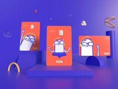 Packaging Design, Branding Design, Credit Card Design, Member Card, Atm Card, Money Cards, Plate Design, Design Design, Fun At Work