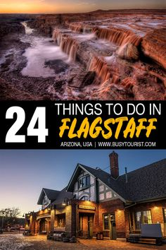 Planning a trip to Flagstaff, AZ and wondering what to do there? This travel guide will show you the top attractions, best activities, places to visit & fun things to do in Flagstaff, Arizona. Start planning your itinerary and bucket list now! Arizona Road Trip, Arizona Travel, Road Trip Usa, Us Travel Destinations, Best Places To Travel, Places To Visit, Architecture Design, Visit Arizona, Arizona Usa