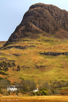 Talisker House and Preshal More, Isle of Skye, Scotland by Shuggie!!