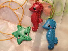 seahorses and seastars by ~Libellulina on deviantART