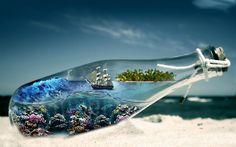 abstract, Sea, Sailing Ships, Ship Wallpapers HD / Desktop and ...