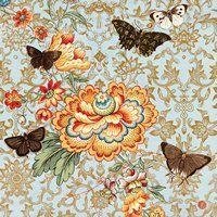 1352 Servilleta decorada animales