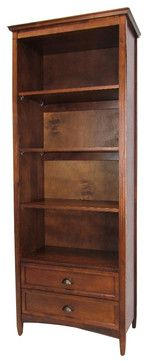 Wayborn 3 shelf bookcase with drawers $681.95