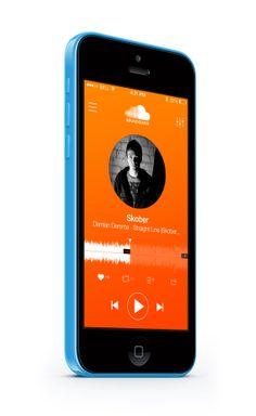 SoundCloud App Concept, iOS 7