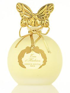 Annick Goutal -  Eau d'Hadrien  Citrus Aromatic fragrance for women and men. Eau d'Hadrien was launched in 1981. Eau d'Hadrien was created by Annick Goutal and Francis Camail. The fragrance features cypress, grapefruit, lemon, sicilian lemon, citron, mandarin orange, aldehydes and ylang-ylang. This perfume is the winner of award FiFi Award Hall Of Fame 2008.