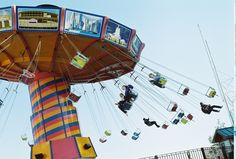 Swings at Navy Pier, Chicago, May 2008   (Molly Nussbaum)
