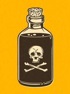 Spooky Tatoo Art, Tattoo Drawings, Art Drawings, Geniale Tattoos, Skull And Bones, Skull Art, Traditional Tattoo, Body Art, Tattoo Designs