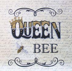 Bee Creative Hive Queen Moda Deb Strain by AliceInStitchesArts