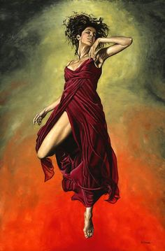 Destiny's Dance Painting by Richard Young - Destiny's Dance Fine Art Prints and Posters for Sale