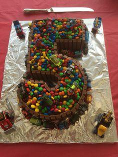 Number 5 Thomas cake