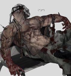 Horror Art, Horror Movies, Character Concept, Character Art, Ship Art, Dark Skin, Art Inspo, Game Art, Night Light