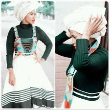 Photos of Traditional Xhosa Wedding Photos: South African + Traditional + Wedding + Dresses African Traditional Wedding, Traditional Wedding Dresses, Xhosa, Model, How To Wear, Outfits, 2d, Image, Photos