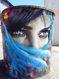 Those eyes! #graffiti #streetart