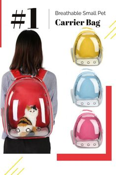 199a1430768a 4 Colors Breathable Small Pet Carrier Bag Portable Pet Outdoor Travel  Backpack Dog Cat Carrying Cage