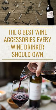 Here are eight best wine tools and accessories every wine drinker should own. Along with these suggestions, we'll let you in on something: none of these wine accessories need to break your budget.