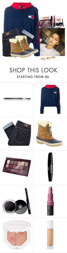 """""""Zendaya"""" by amour-vicieux ❤ liked on Polyvore featuring Le Métier de Beauté, Tommy Hilfiger, Paige Denim, Maybelline, NYX, Chanel, Bobbi Brown Cosmetics, Puma, Sephora Collection and Loren Stewart"""