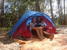 A gente sempre gostou de acampar  mas, por incrível que pareça, desde que o Lipe nasceu, coincidentemente, não tínhamos ido acampar com el...