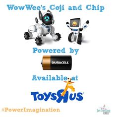 Get your kids imaginations running with new tech toys available at @toysrus  from WowWee powered by Duracell batteries. #PowerImagination #ic #ad