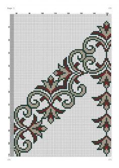 Filet Crochet, Knit Crochet, Cross Stitch Embroidery, Hand Embroidery, Cross Stitch Patterns, Prayer Rug, Bargello, Needlework, Projects To Try