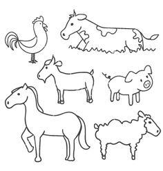 Image result for farm doodle