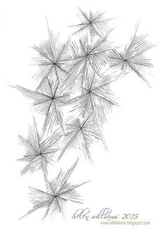 a little lime: Frost Flower Tangle Pattern