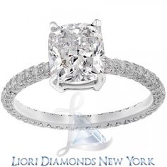 dbcf35a3c1c Search results for   engagement liori exclusive rings 3 60 carat f cushion cut  diamond eternity ring egl certified