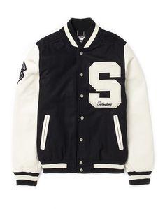 New Unisex High School Lettermans Sport Jacket Wool Faux Leather Supreme Being | eBay