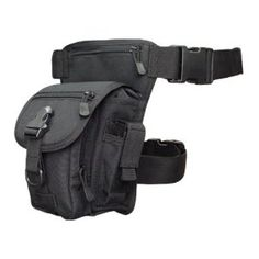 Condor Cross Over Leg Rig - 219 (Black) by Condor. $25.95. CROSS OVER LEG RIG. - Main compartment with 420D packcloth and drawstring   closure. - Front pocket with zipper closure. - Additional side-release buckle flap, with zipper pocket over center    compartment. - Two side utility pouches for flashlight, multi-tool, pistol mag.....etc. - Additional mesh compartment on the back with zipper closure. - Single waist/shoulder strap for dual usage. - Single detachable leg strap for ...