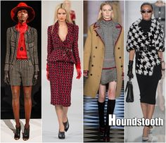 This works out so well for me :)  Fall 2013 Trend: Houndstooth