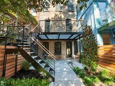 Image result for cost to build steel balcony to back of brownstone brooklyn