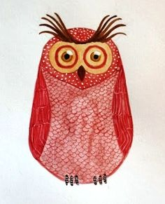 'Red Owl' by Bianca Olsson