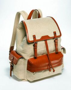 Vincis Bench canvas backpack - Google Search