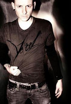 Chester Bennington of Linkin Park - definitely unconventional