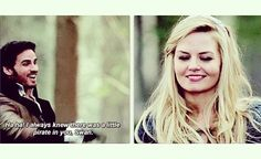 Captain Swan, one of my fave bits