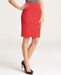 Stretch Pencil Skirt   Ann Taylor, just bought this