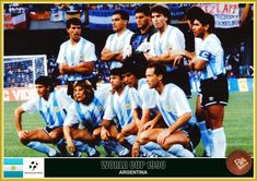 Fan pictures - 1990 FIFA World Cup Italy. Argentina Team, Fan Picture, Fifa World Cup, Football, Baseball Cards, Star, Pictures, Sports, World