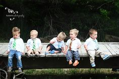 ADORABLE boys wearing Taylor Joelle ties.
