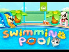 Panda is ready to make a splash! Panda Swimming Pool is out! Take care of these cute baby animals as they jump, slide, and dive into three big pools. Big Pools, Swimming Pools, Child Love, Official Trailer, Cute Baby Animals, Games For Kids, Kids Learning, Cute Babies, Panda