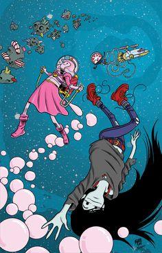 Adventure Time: Marceline Gone Adrift #2 by ADAMshoots on deviantART
