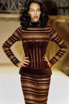 Azzedine Alaïa Fall 1991 Fashion Show & more deatils