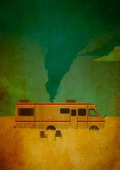This Cooking Bad Print by Danny Haas Puts a Twist on the Title Breaking Bad