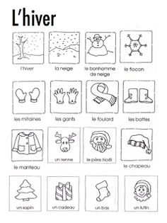 This article help me gain a better understanding of how to teach vocabulary to French Immersion students. It explains the importance of use gestures and pictures to solidify students understanding of new words. French Worksheets, Worksheets For Kids, Kindergarten Worksheets, Printable Worksheets, Free Printables, French Teaching Resources, Teaching French, How To Speak French, Learn French