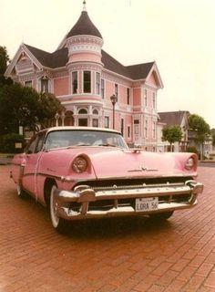 Vintage pink 1956
