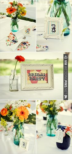 diy wedding decor | VIA #WEDDINGPINS.NET