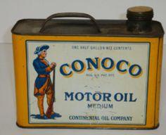 CONOCO Motor Oil.